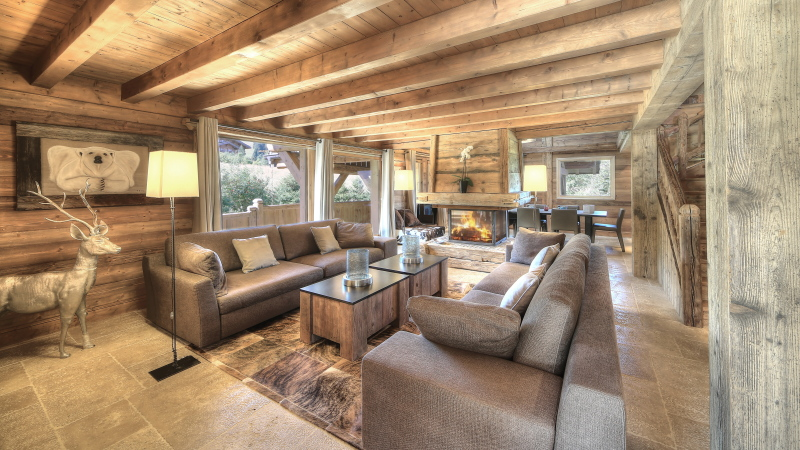Megeve chalet individuel 6 chambres